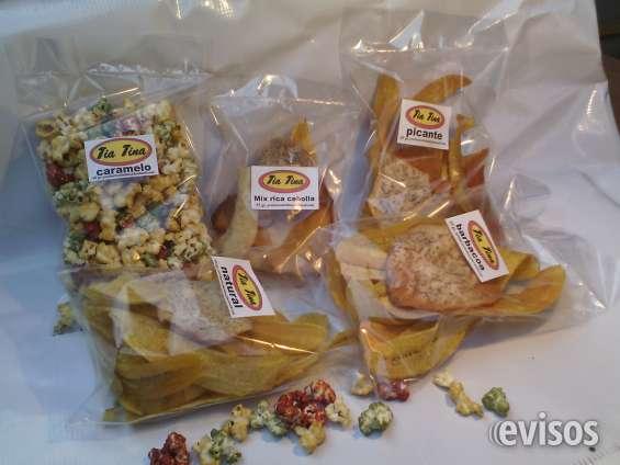 Buscamos distribuidores para snacks de alta calidad