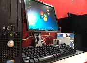 Liquidacion de computadoras core 2 duo con disco duro de 160gb, 2gb de ram y lcd 17¨