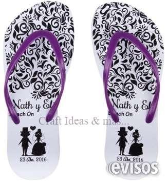 Sandalias impresas personalizadas