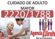 CUIDADO DE ADULTO MAYOR CON PERSONAL PROFESIONAL