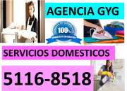 Servicios domesticos y empresariales agencia gyg 5116-8518