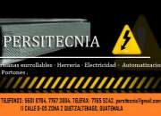 Persitecnia, especializados en persianas metálicas enrollables