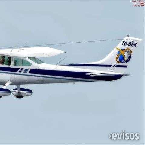 Avion practica entrenamiento pilotos