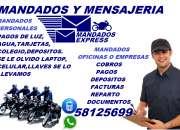 mandados y mensajeria express