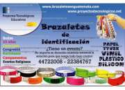 Brazaletes para eventos - pulseras de control guatemala