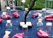 Mobiliario y cristalería para bodas y eventos