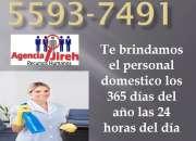 Personal domestico investigado y documentado para el hogar