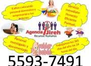Personal domestico investigado para tu hogar agencia jireh 8 años de experiencia