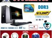 Combos x5 computadoras para cafe internet desde q7,450.00 !pagas al recibir, envio gratis!