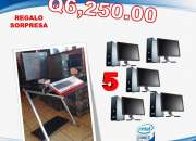 Combos de computadoras para cafe internet,colegios,institutos, call center