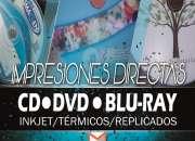 Servicios de impresión, duplicado y maquila de CD/DVD/BLU-RAY.