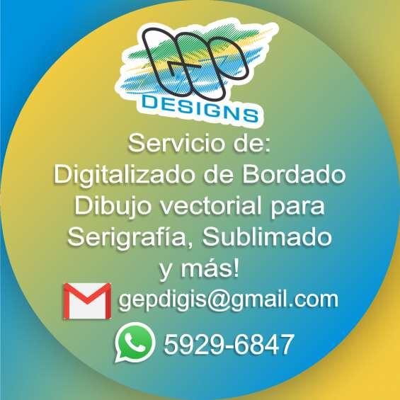 Digitalizador de bordado en Ciudad de Guatemala. Digitalizador de bordado 130092297b309