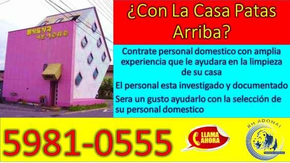 Domesticas seguras y confiables hasta la puerta de tu hogar