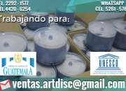 Servicios profesionales, de impresión, duplicado y maquila de cd/dvd/blu-ray