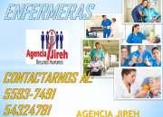 Tenemos el mejor personal para enfermería en agencia jireh