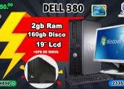 COMPUTADORAS DELL CORE2DUO, 02GBRAM/160 DISCO DURO +UPC TAN SOLO Q 1,850.00 O 10 CUOTAS DE