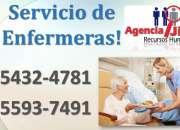 Agencia Jireh te ofrece personal de Enfermeria
