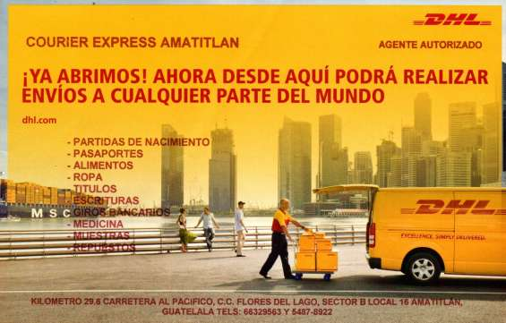 Dhl agencia amatitlán