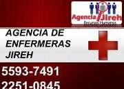 AGENCIA DE ENFERMERAS CALIFICADAS E INVESTIGADAS EN JIREH