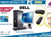 COMPUTADORAS DELL+MUEBLE+IMPRESORA+REGULADOR!! IDEALES PARA OFICINAS, PUNTOS DE VENTAS, BO