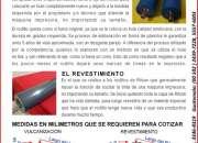 Vulcanizacion de  rodillos para tinta, agua y uv