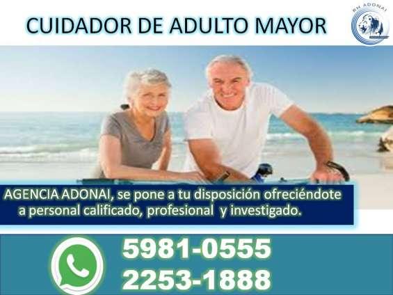 Cuidadora de adulto mayor guatemala