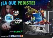 COMPUTADORAS DELL CON PROCESADOR CORE2DUO CON 08GB RAM, 500 DISCO DURO, TARJETA DE VIDEO 0