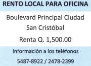 Rento local en san cristobal tel 54878922 - 24782399