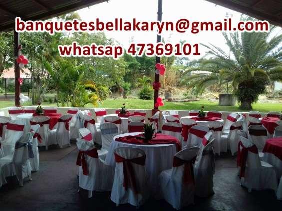 Jardin para eventos viila nueva banquetes en villa nueva catering