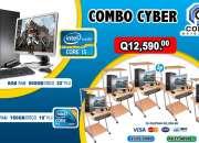 COMBO TODO INCLUIDO DE 05 COMPUTADORAS DELL +01 COMPUTADORA HP PROCESADOR COREi5, PARA SER
