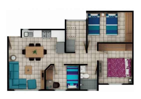 Property solutions vende apartamento para estrenar en boca del monte