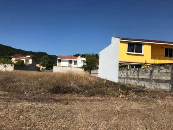 Se vende terreno dentro de condominio en san jose pinula