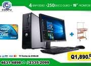 COMPUTADORAS DELL PARA USO ADMISTRATIVO!! Tel: 2335-2099//5701-6630, COMPUTADORAS DELL + M