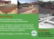 Piedra Volcánica Lava Roca para tratamiento de aguas residuales y bio-filtros