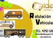 ¡rotulación vehicular de calidad!