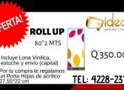 Oferta de roll up!!!