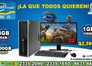 OFERTAS COMPUTADORAS HP CON PROCESADOR COREi5 CON 08GB RAM, 500 DISCO DURO, TARJETA DE V