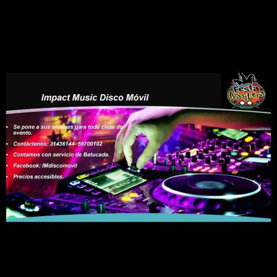 Disco movil impact music