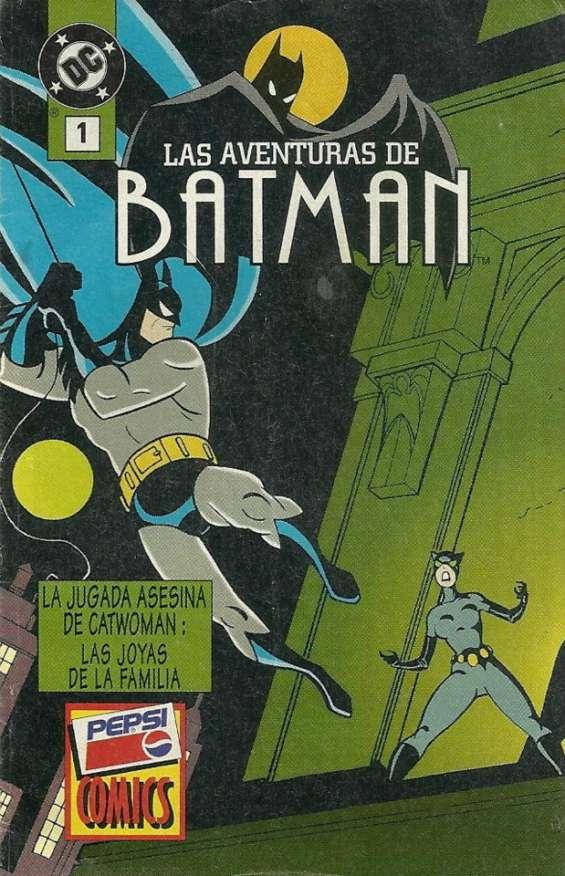 Busco mini comic batman aventuras pepsi