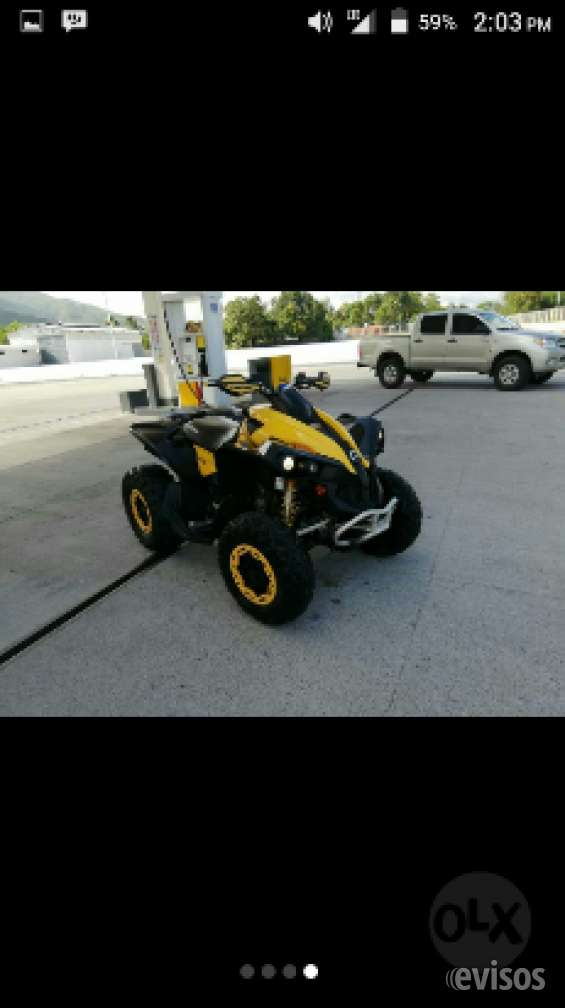 Cuatrimoto can am 800cc 4x4