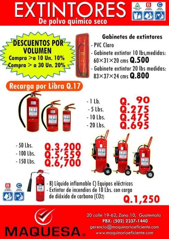 Equipo contra incendio extintores a un super precio!!!