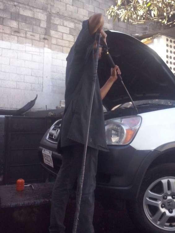 Flushing, engrase, lavado de motor, lavado de chasis,lavado de radiador