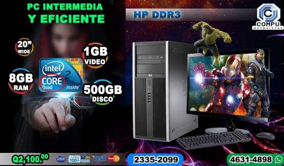 Aprovecha nuestras ofertas computadoras dell con procesador core2quad