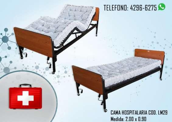 Cama hospitalarias nuevas indujas