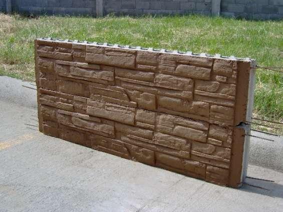 Muros prefabricados.