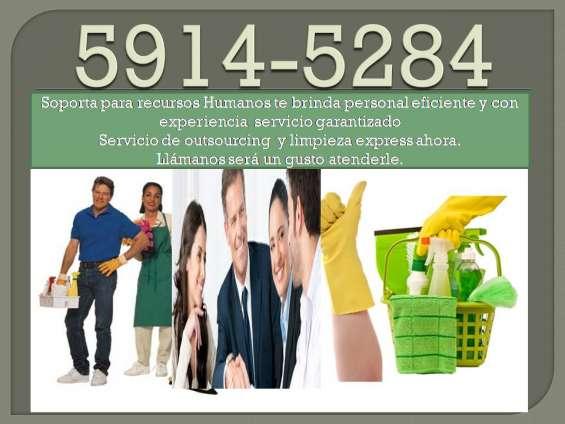 Servicio de selección y reclutamiento de personal domestico y empresarial