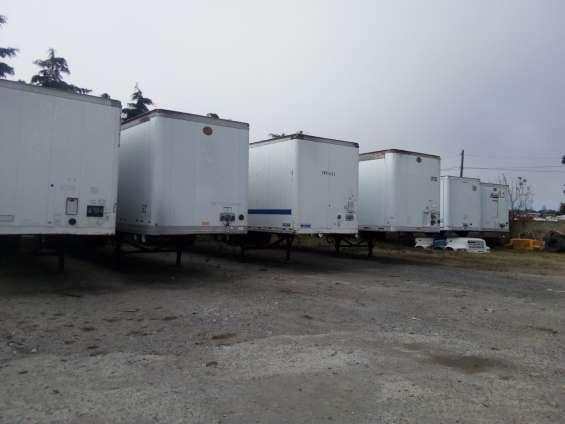 Vendo 4 furgones de 53 pies de largo