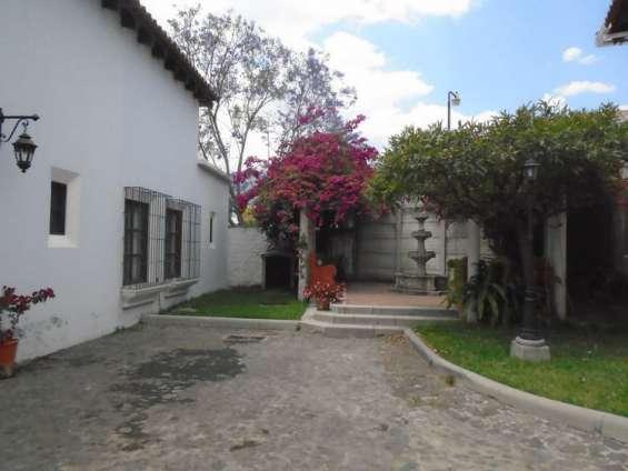 Casa en renta en la antigua guatemala