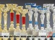 Aceptamos copas o trofeos de fut-bol