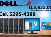 Combo de computadoras dell optiplex en promoción